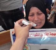 الاعتصام الأسبوعي لأهالي الأسرى في الصليب الأحمر بغزة الاثنين 22/5/2017
