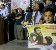 فعالية تضامن مع الأسير محمد علان 17-8-2015