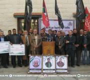 وزارة الاسرى تُنظم وقفة تضامنية مع الاسرى بمشاركة حركة المقاومة الشعبية و الجبهة الشعبية